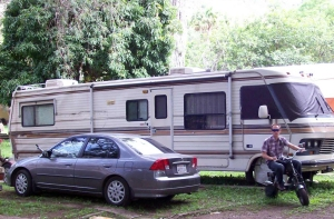 Andrew J. Wharton and Dave Clingman's RV home in Guadalajara