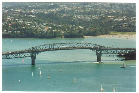 The Auckland Harbour Bridge