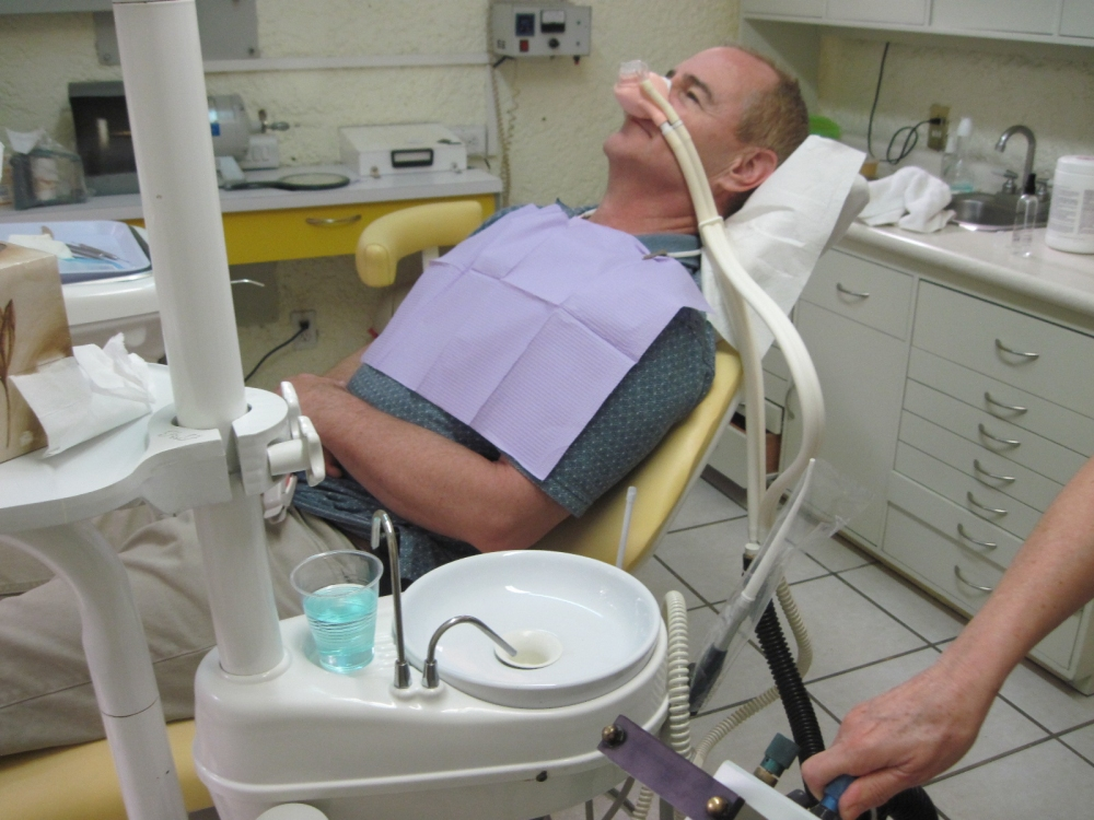 how to ask for nitrous at the dentist