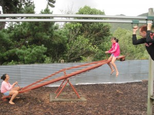 Kauranga Valley Christian Camp's Playground