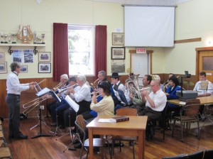 Thames Citizen Band at Thames Heritage Week Performance