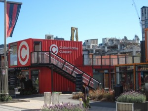 Cashel Container Mall in Christchurch, New Zealand