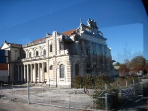Catholic Cathedral in Christchurch damaged by Christchurch earthquakes