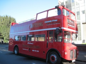 Open Top Double Decker Bus Tour of Christchurch by Hassle Free Tours