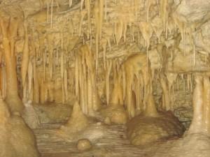 inside Maori Leap Cave