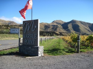 Marble Point Vineyards at Hanmer Springs, New Zealand