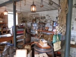 Kerikeri's Stone Store insides