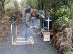 Trigene Disinfectant Station for Kauri Die Back Disease