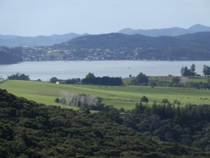 Russell, New Zealand, as seen from Haruru Falls Road