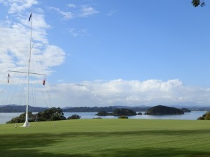 Waitangi Treaty Grounds Flagstaff