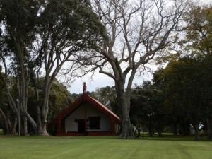 Te Whare Runanga at Waitangi (Maori Meeting House)