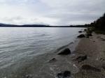 Shoreline of Lake Manapouri, New Zealand