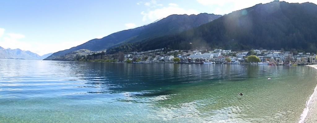 Queenstown and Lake Wakatipu waterfront