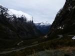 Milford Sound approach, Fiordland National Park, New Zealand
