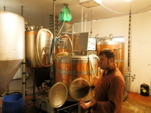 Touring Wanaka Beer Works, New Zealand