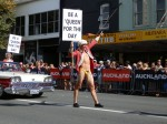 Queen for a day at Auckland's Gay Pride Parade