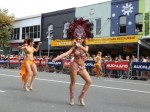 Lady Dancers at Gay Pride Parade in New Zealand's Largest City, Auckland