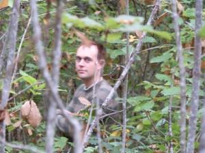 Andrew J. Wharton at Mt Alexander Regional Park's oak forest