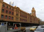 Flinders Street Train Station, downtown Melbourne, Australia