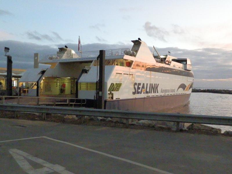 Ferry from Australia to Kangaroo Island