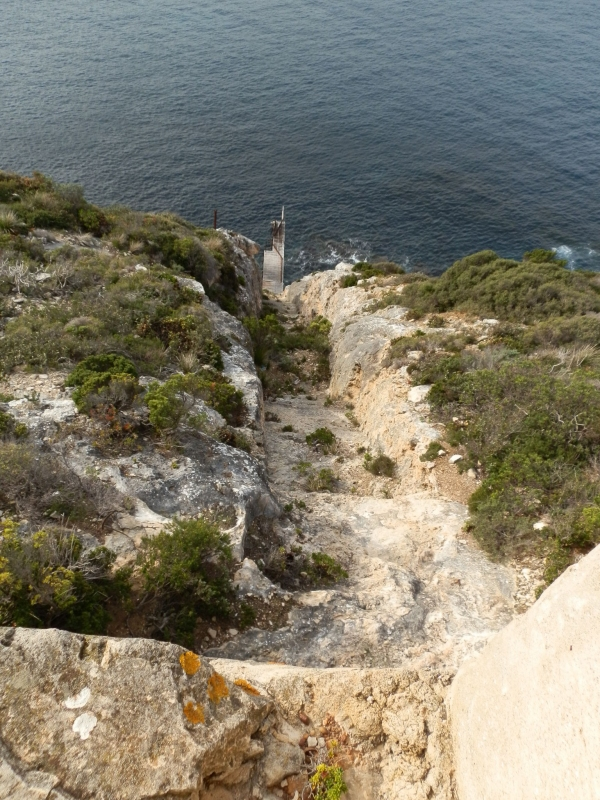 Flying Fox channel at Weirs Cove of Cape du Couedic