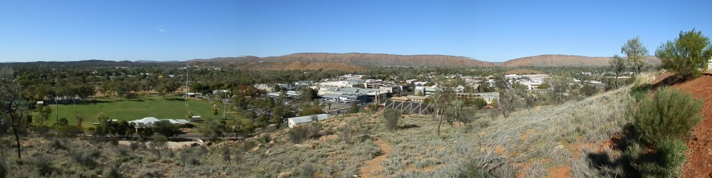 Alice Springs, Australia, Anzac Hill Panoramic
