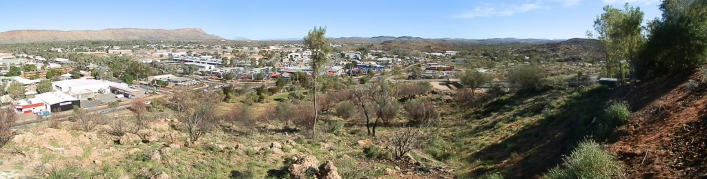 Alice Springs, Australia, Anzac Hill Panoramic