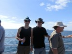 Dave Clingman and Andrew J. Wharton at Great Barrier Reef, Franklin Islands, Australia