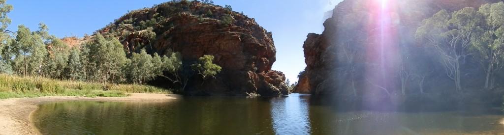 MacDonnell Range Wall's Ellery Creek Big Hole