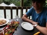 Kuranda Koala Gardens restaurant feast