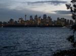 Nighttime cityscape of Sydney, Australia