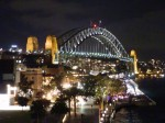 Sydney's Harbour Bridge, nighttime