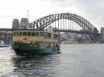 Ferry to Sydney's Taronga Zoo