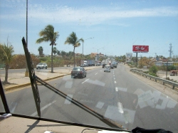 Dave Clingman and Andrew Wharton enter Mazatlan, Mexico